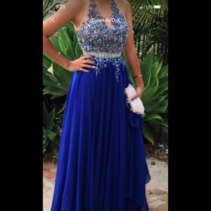 Dresses & Skirts - 🌺👍Beautiful navy blue dress!:) 👍🌺